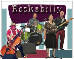 Rockabilly Band #3567 Image