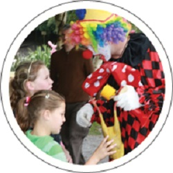 #2480 - Childrens Entertainer, Clown, Compere, Face Painter, Lighting Hire, Mobile Disco, PA Hire