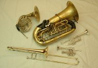 Brass Band, Brass Ensemble #1821 Image