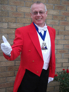 Compere, Master of Ceremonies, Toastmaster #2486 Image