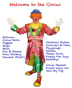 #2772 - Childrens Entertainer, Clown