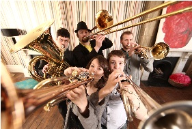 Brass Band, Brass Ensemble, Folk Band, Function Band, Oompah Band, Pop Band, Speciality Act #2093 Image